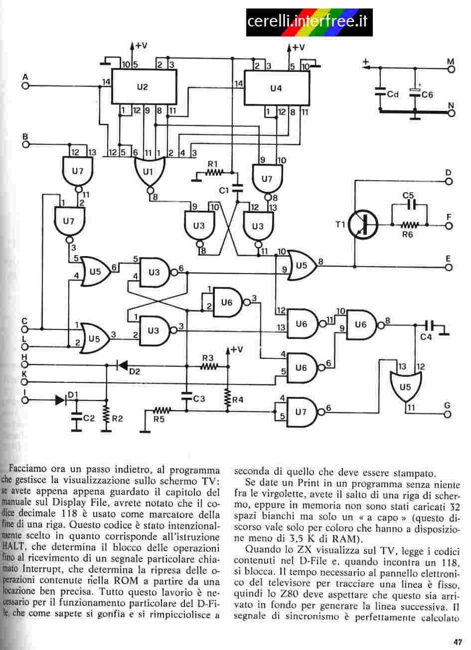 Zx80 Slow Built Zx81 Circuit Diagram Rozen O Reim S Nmi Aneb Jak Postavit Ze Zkladnch Logickch Obvod Bez Pouit Ula Nco Pro N Klon